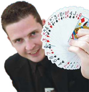 Photo of the magician 'Magic Al'